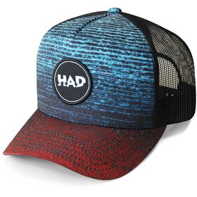 HAD Trucker Cap gradient melange redblue